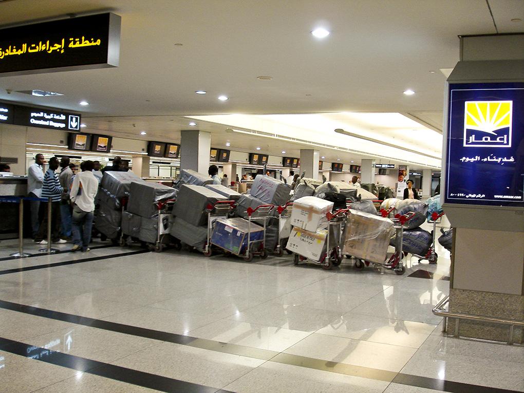 Impressionen Airport Dubai, VAE