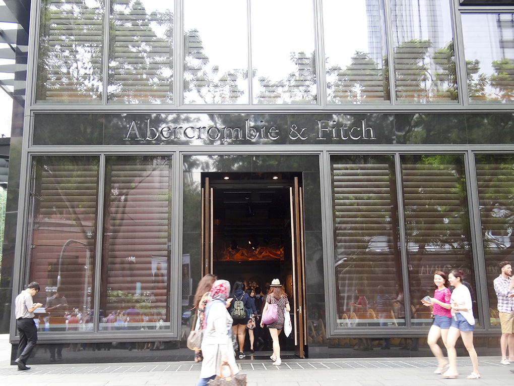 Abercrombie & Fitch Store, Orchard Road, Singapur