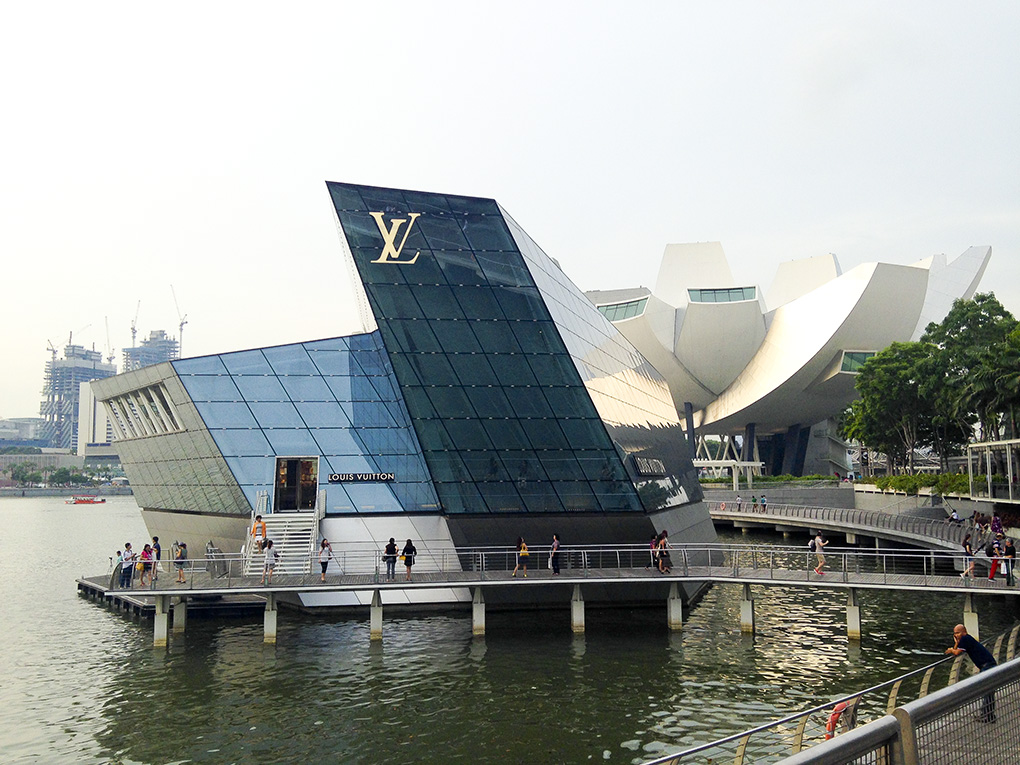 Louis Vuitton Store, Marina Bay Sands, Singapur